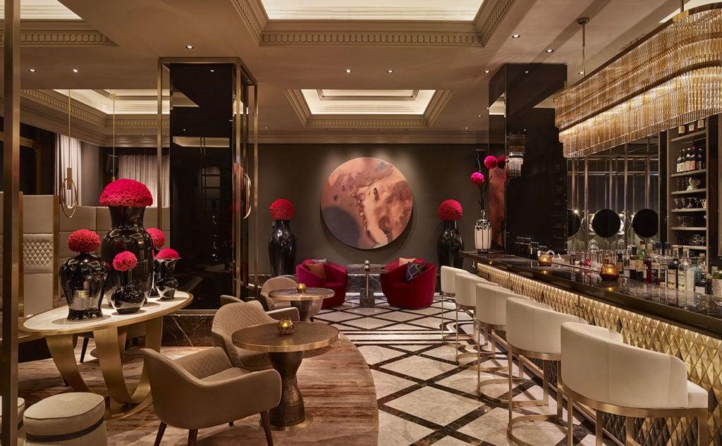 Interior der Fragrances Bar im the Ritz-Carlton in Berlin