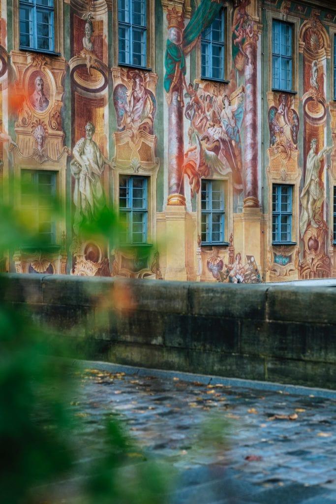 Die Altstadt in Bamberg erinnert an Venedig