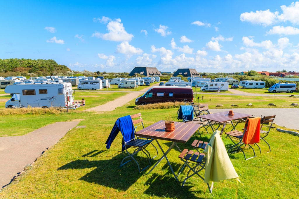 Einer der schönsten Campingplätze in Deutschland auf Sylt
