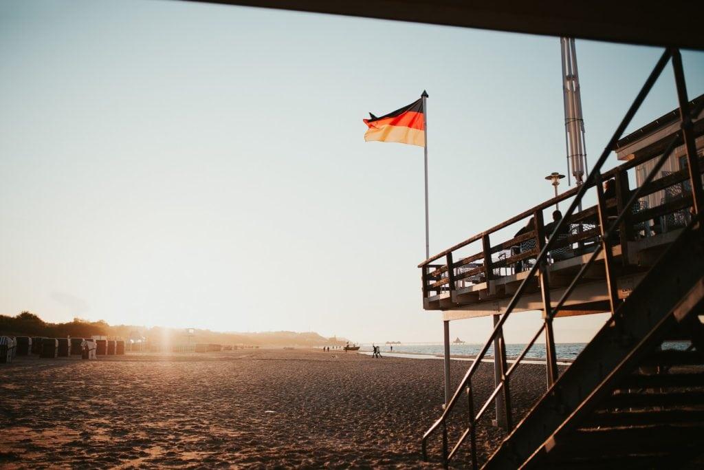 Strandbad in Heringsdorf, einem der besten Strände in Deutschland