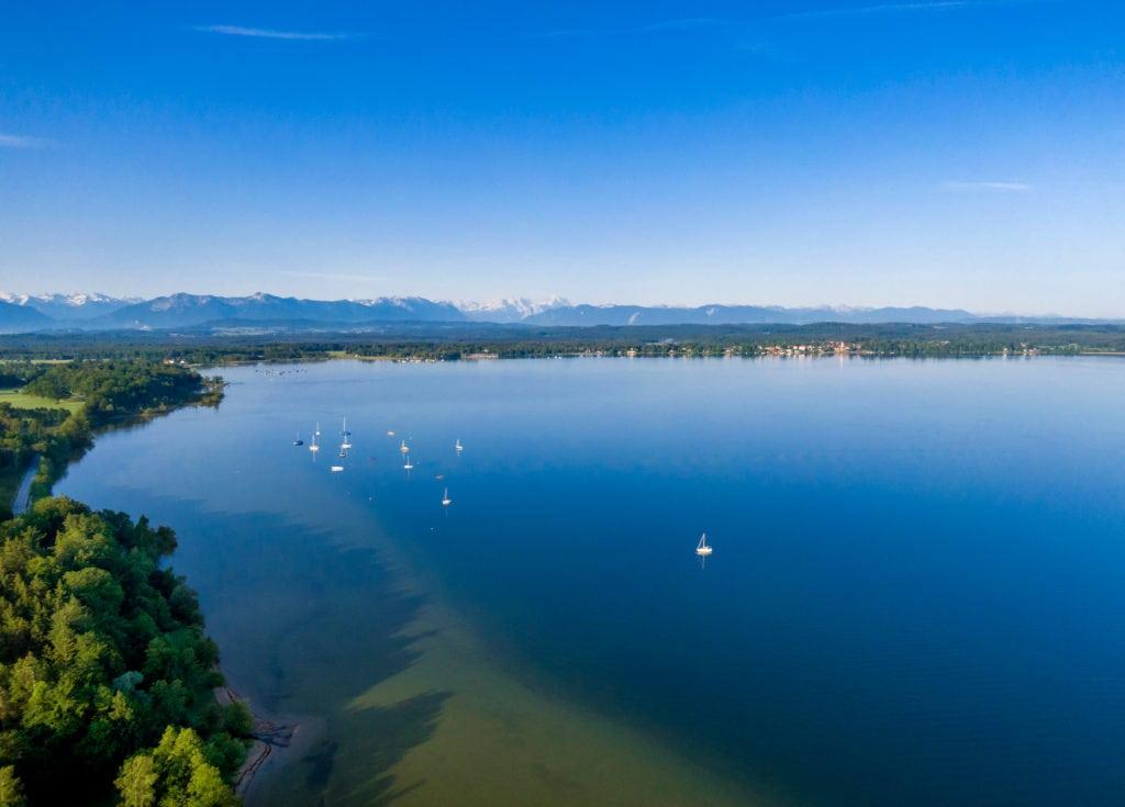 Einer der schönsten Campingplätze in Deutschland liegt am Starnberger See in Bayern