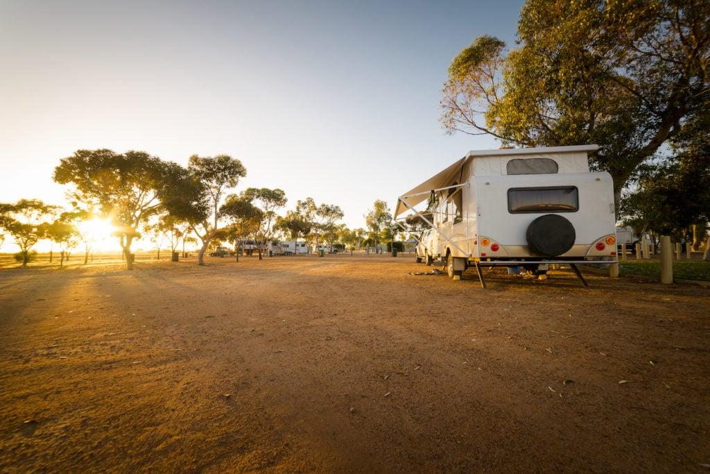 Einer unserer Camping-Tipps: Reist in der Nebensaison, dann sind die Plätze leerer als in der Hauptsaison