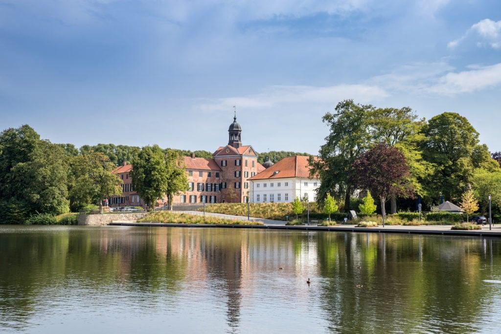 Eutiner Schlosssee an der Ostsee
