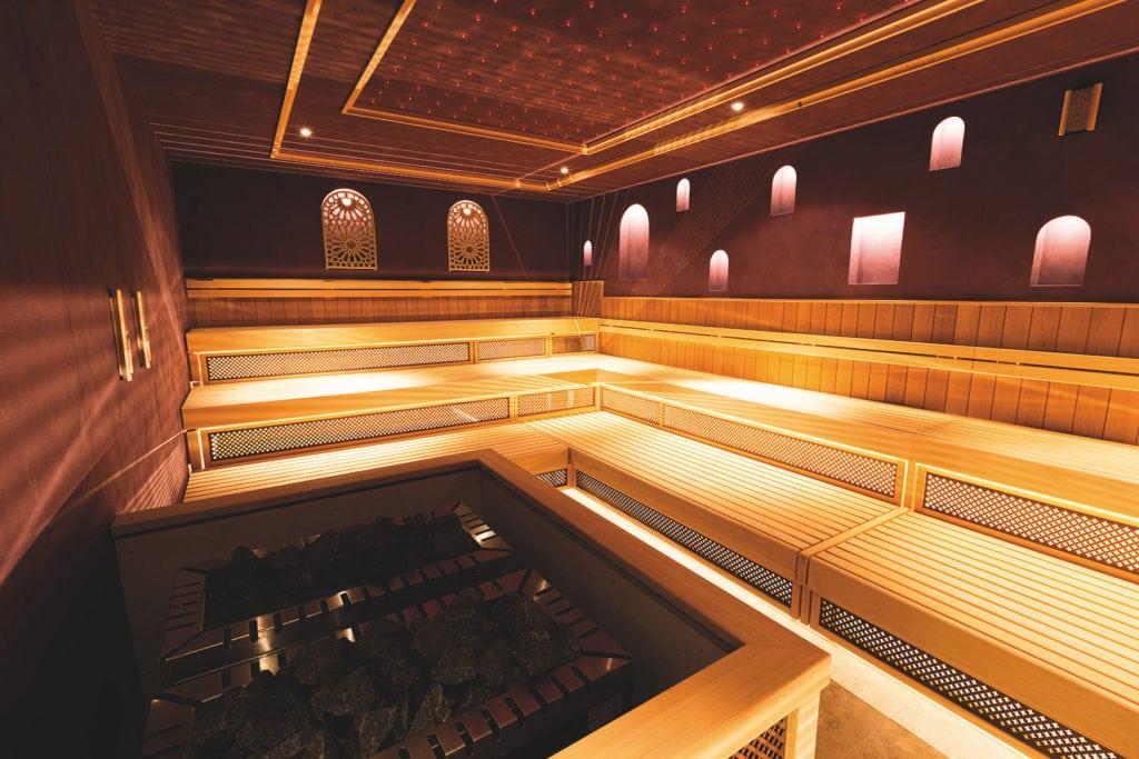 1001 Lichter Sauna in der Havel-Therme