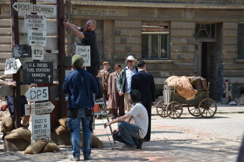 """Dreharbeiten zu """"Es war einmal in Deutschland…"""" in Weißenfels"""