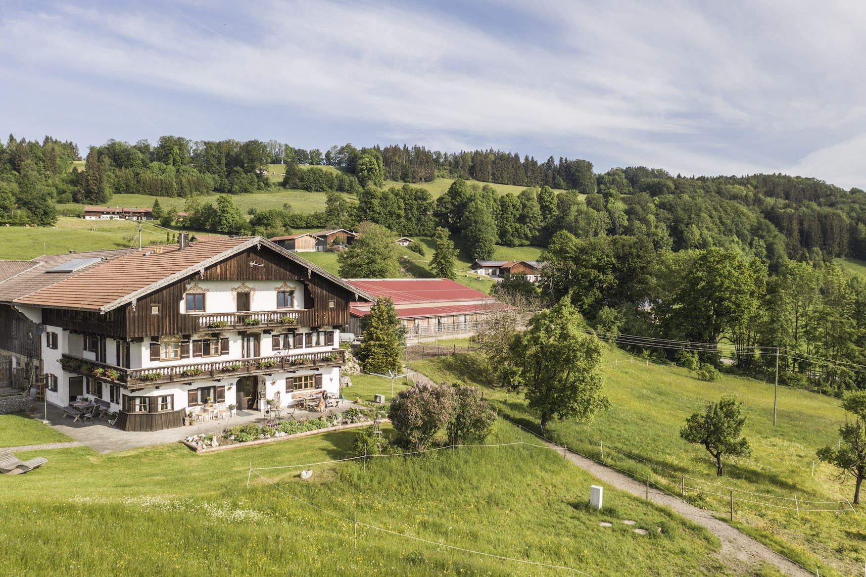 Reiterurlaub in Bayern auf dem Hof Rossruck