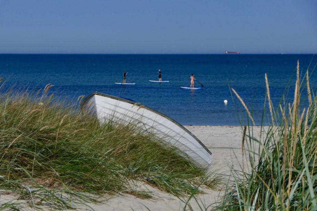Strand im deutschen Kalifornien