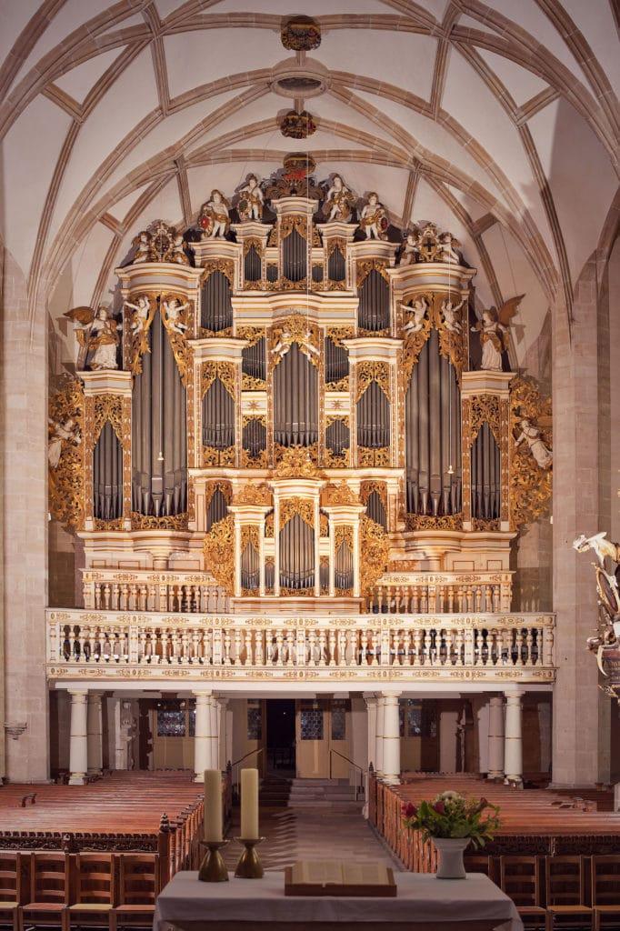 Orgel im Merseburger Dom