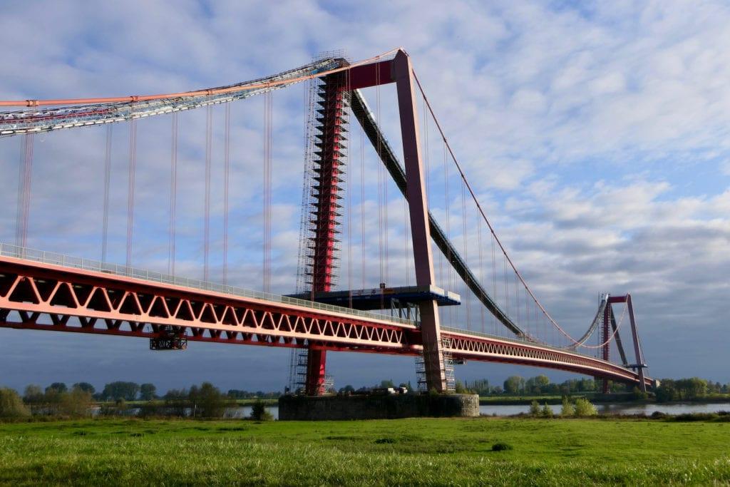 Rheinbrücke Emmerich in San Francisco, Deutschland
