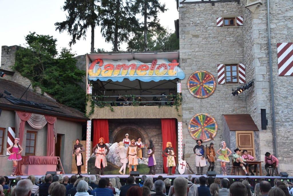Frankenfestspiele in Röttingen im Fränkischen Weinland