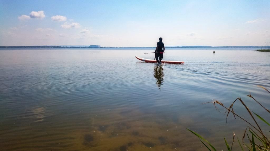SUP-Spots in Deutschland: Das Steinhuder Meer