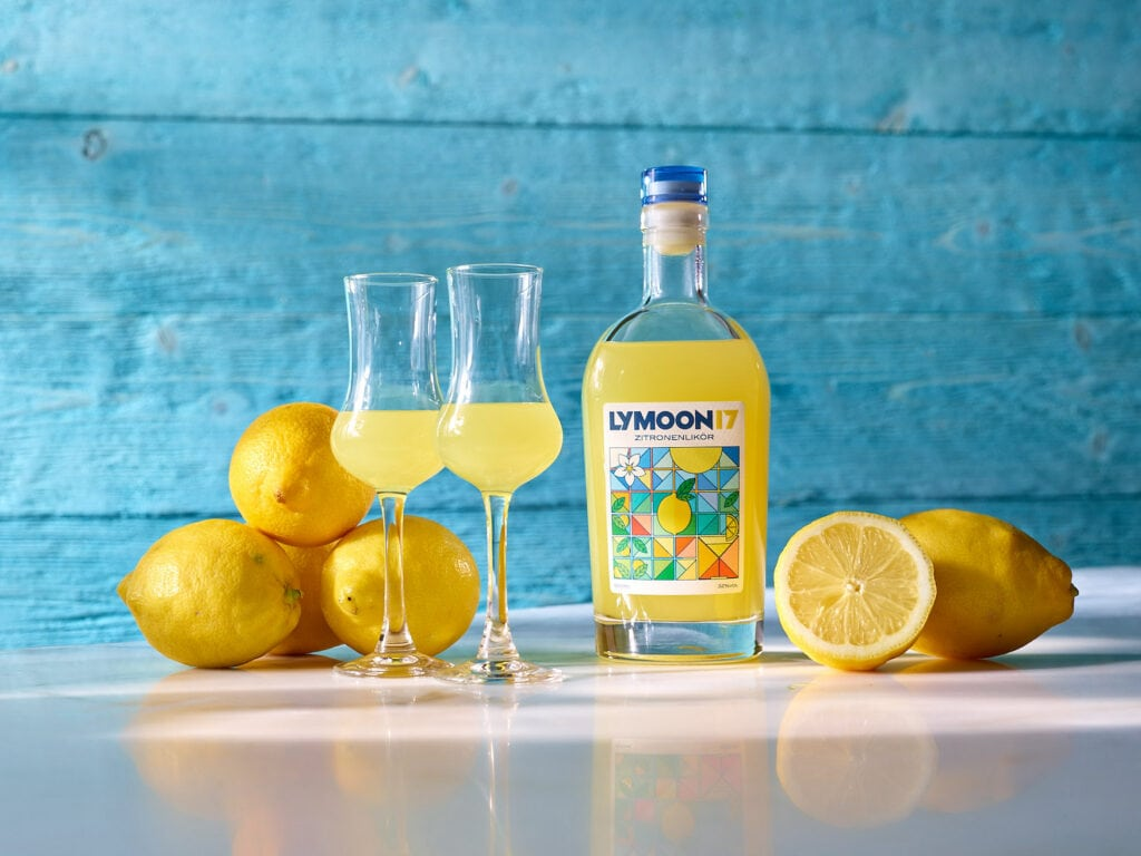 Der Lymoon 17 ist ein erfrischenderZitronenlikor für laue Sommerabende