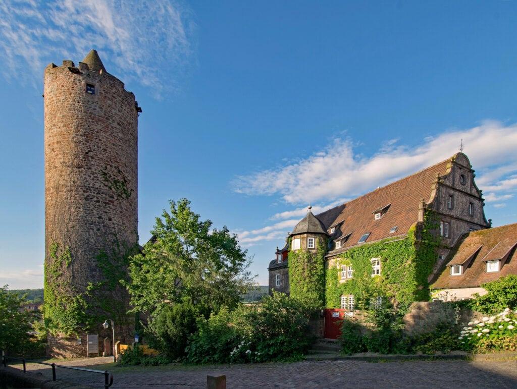 Schloss Schlitz in der Vulkanregion Vogelsberg