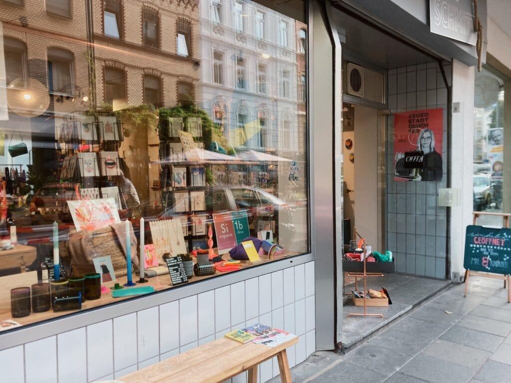 Interiorladen Frau Schmitt in der Kölner Südstadt